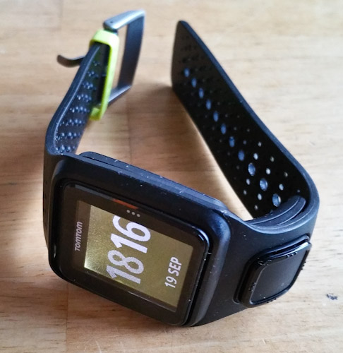 tom tom runner gps watch